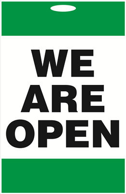 A-Frame Sign - We Are Open